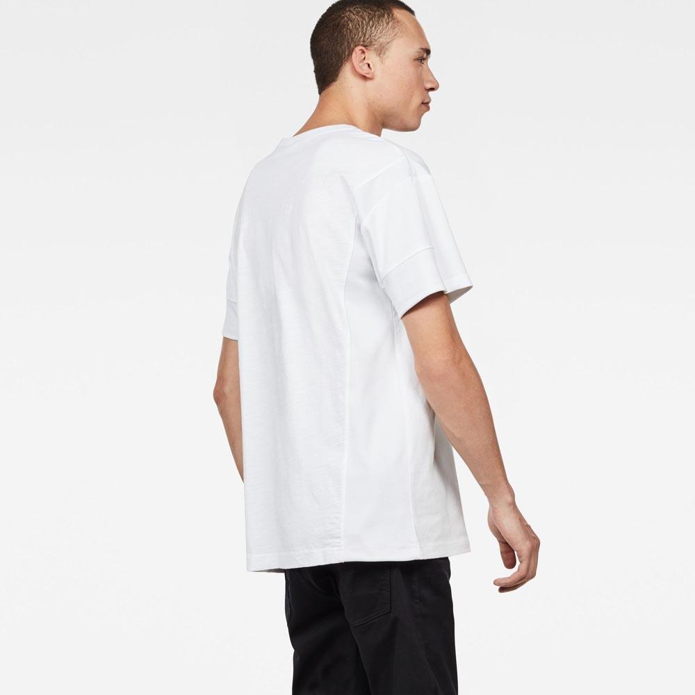 Gstar-Motac-X-Loose-Round-Neck-Bianco-Magliette-Gstar-moda