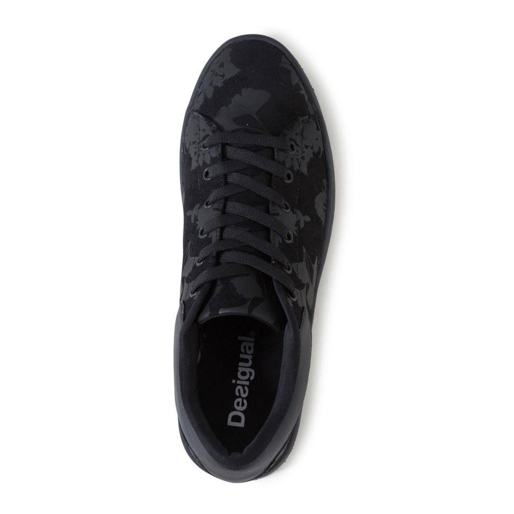 Desigual Sneakers Retro Fitness Court Noir Baskets 8r8xAdwUq