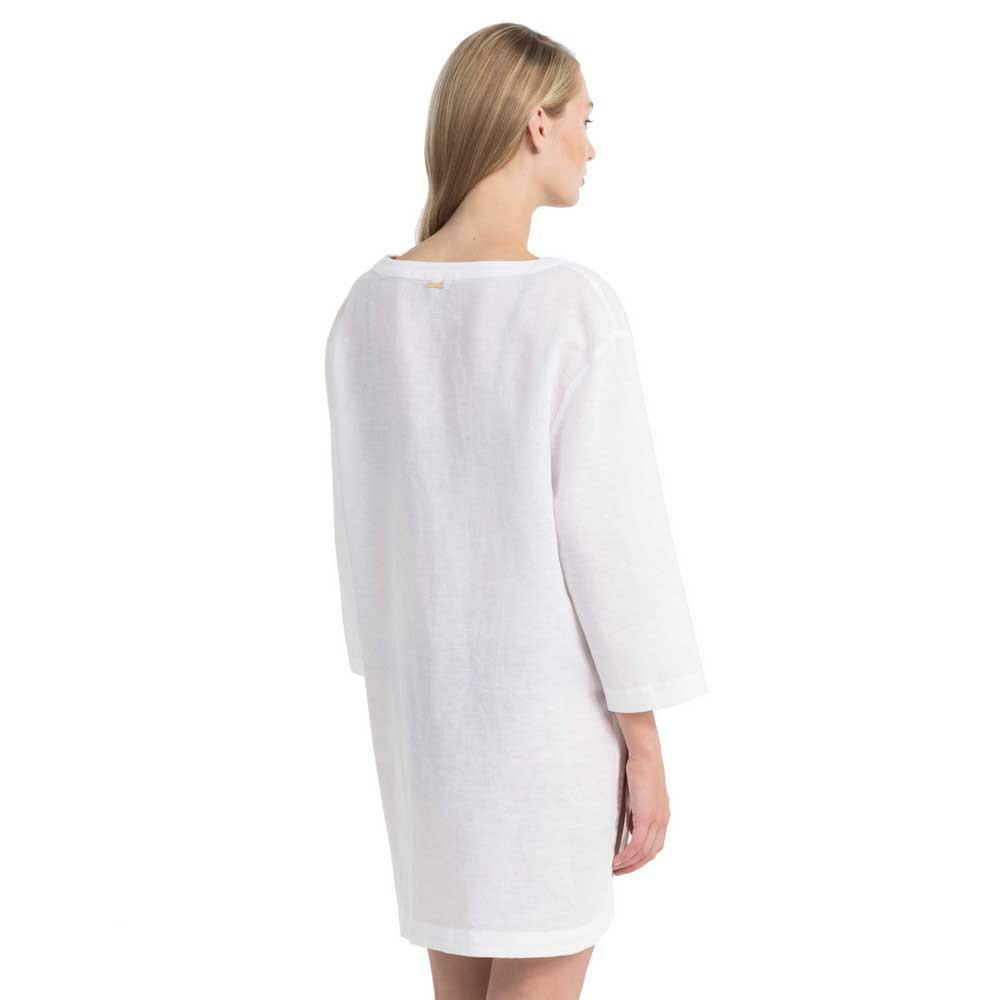 Calvin White Klein T Kaftan Pvh Woven Mode shirts qRwrO1qv