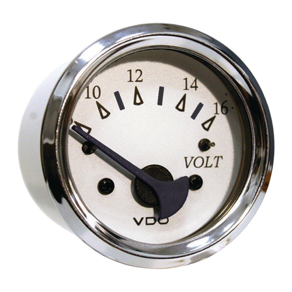seachoice-voltmeter-one-size-chrome-white