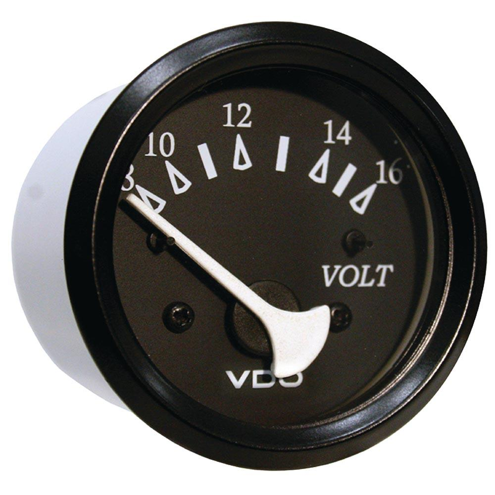 seachoice-voltmeter-one-size-black
