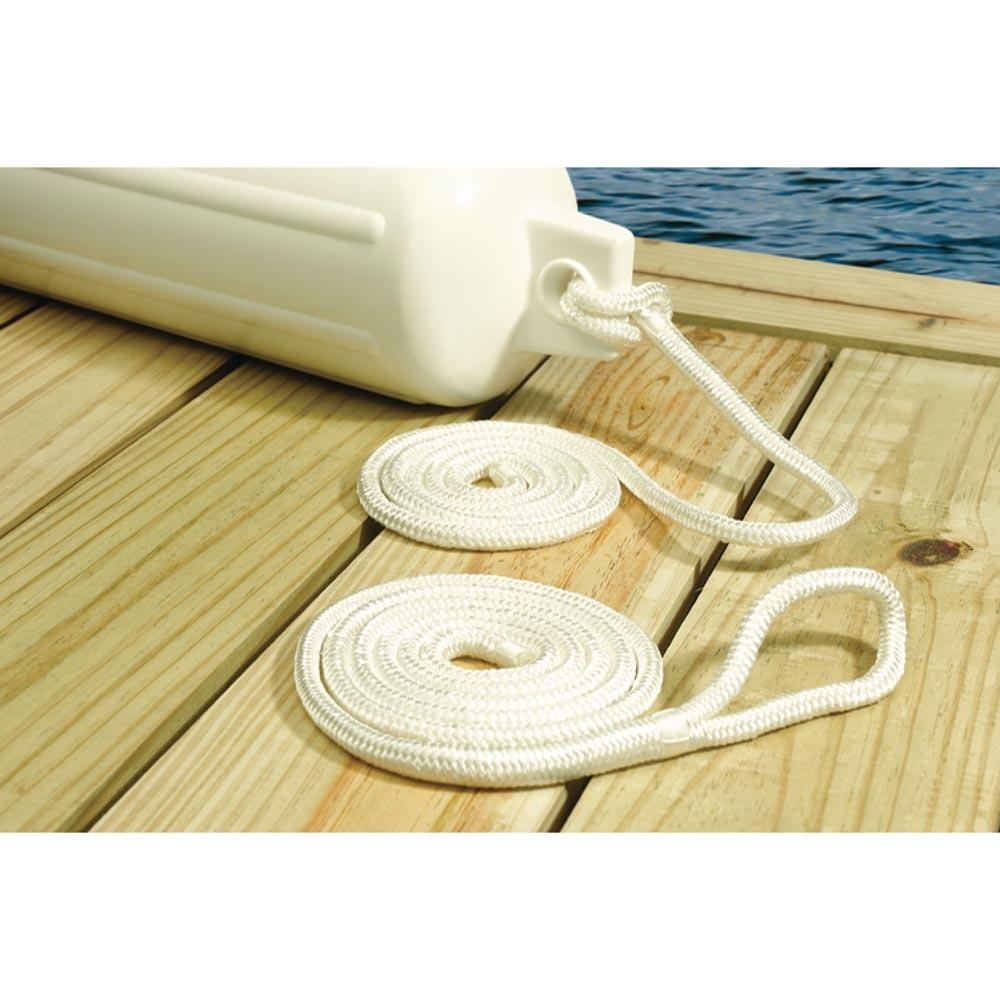 seachoice-fend-line-braided-6-mm-2-pcs-1-8-m-white