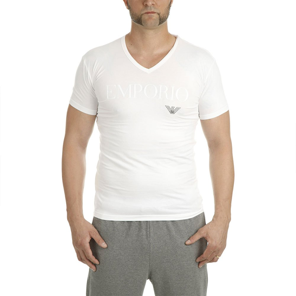 Emporio Armani 110810 Cc716 L White