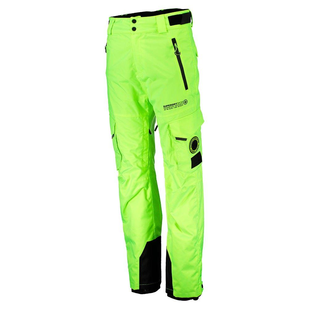Superdry-Snow-Pants-Vert-T77824-Pantalons-Homme-Vert-Pantalons-Superdry-ski miniature 6