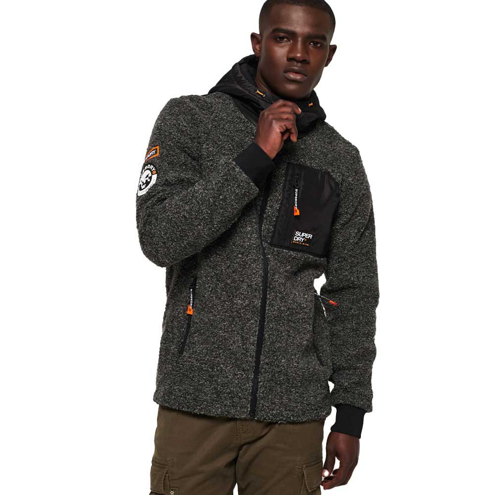 Vestes Gris Vêtements Mountain Ziphood Mode Bleu Homme Superdry Sherpa IwTg8
