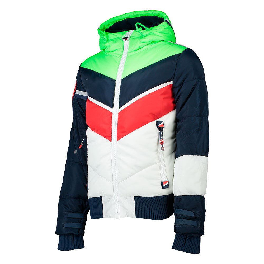 new product 3c567 2e437 Details zu Superdry Mountain Range Puffa Multicolor T21587/ Mäntel und  Parkas Mann Superdry