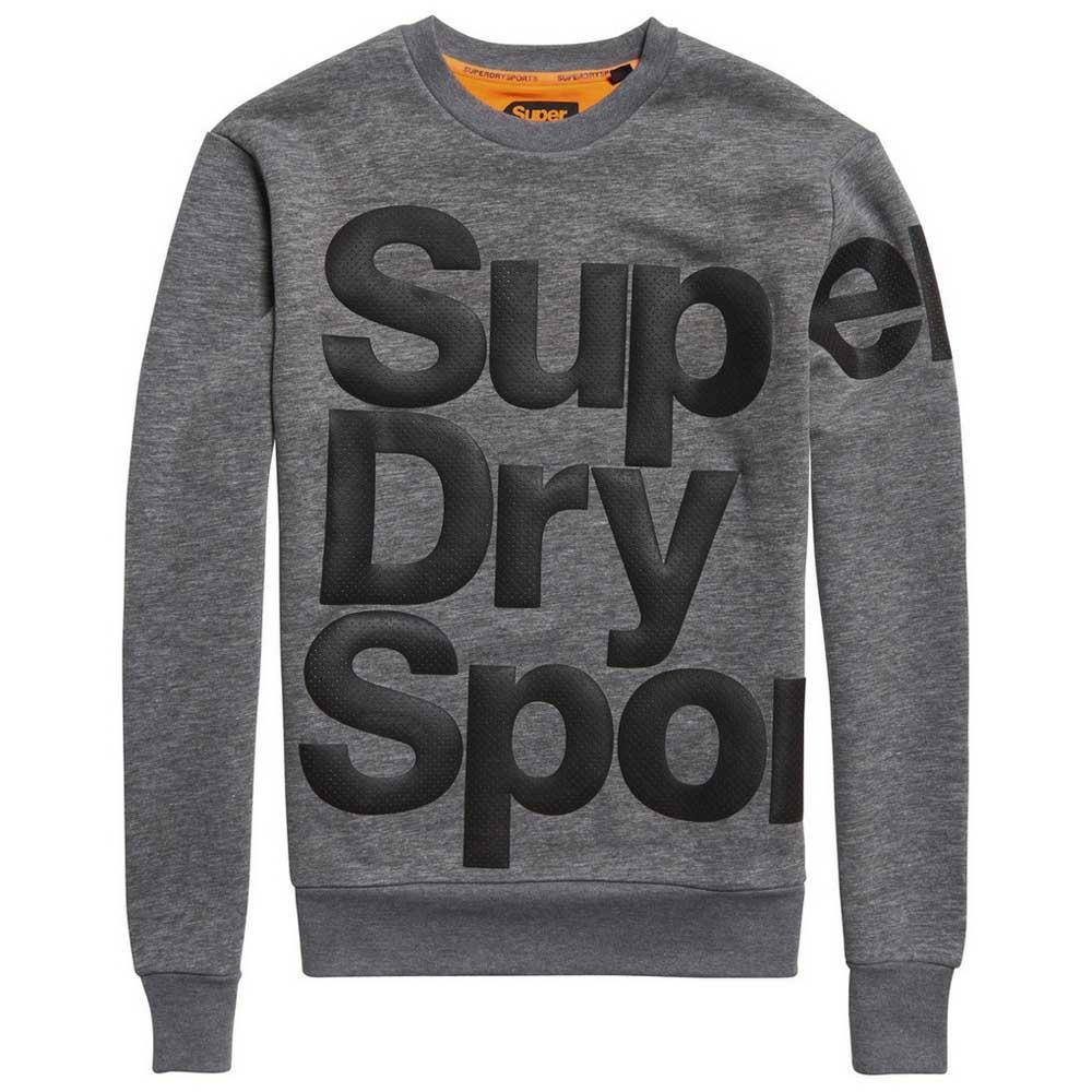 Superdry Sweatshirt Combat Crew S Dark Marl