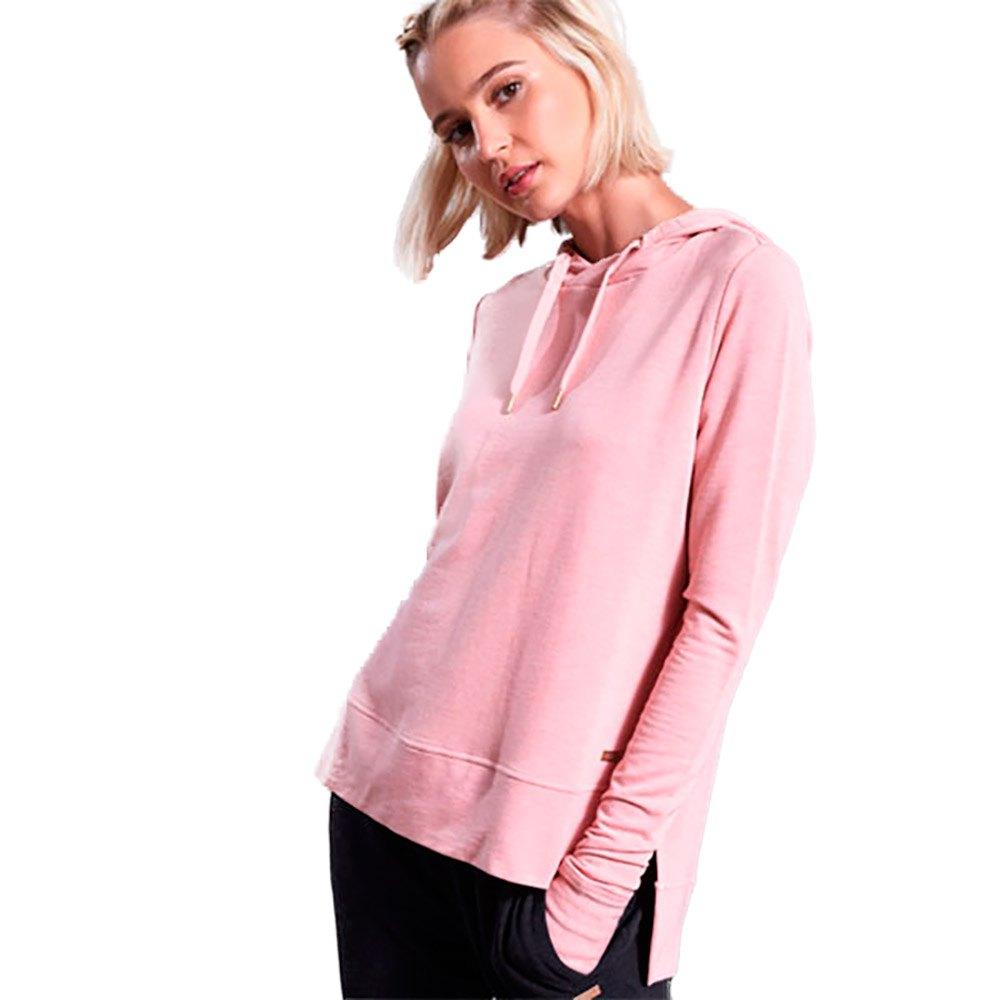 Superdry Sweat À Capuche Active Studio Luxe XS Dusk Pink Marl