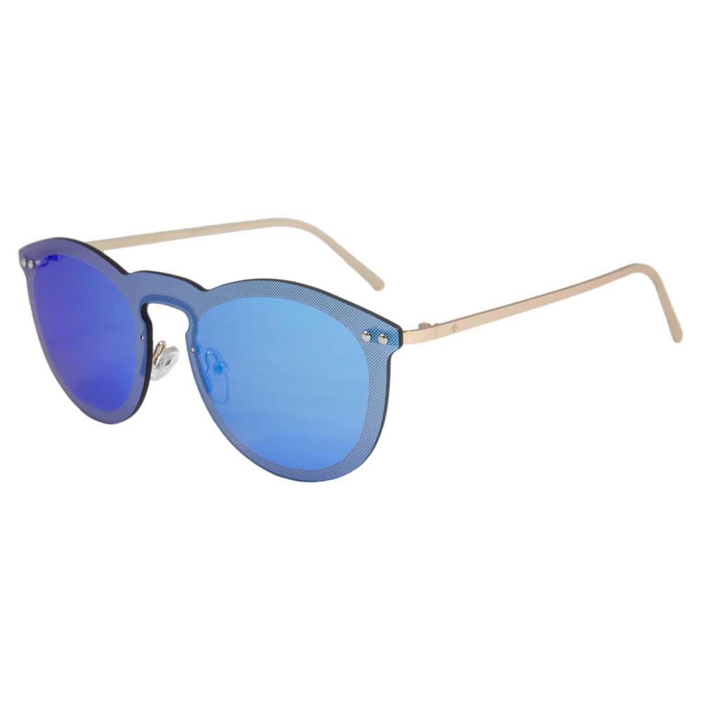 Lenoir Eyewear Cannes Space Flat Sky Revo Blue/CAT3 Metal Gold Temple