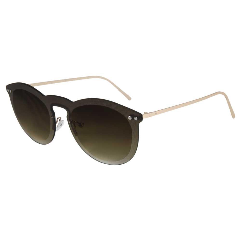 Lenoir Eyewear Cannes CAT3 Space Flat Brown Lens With Metal Gold Temple