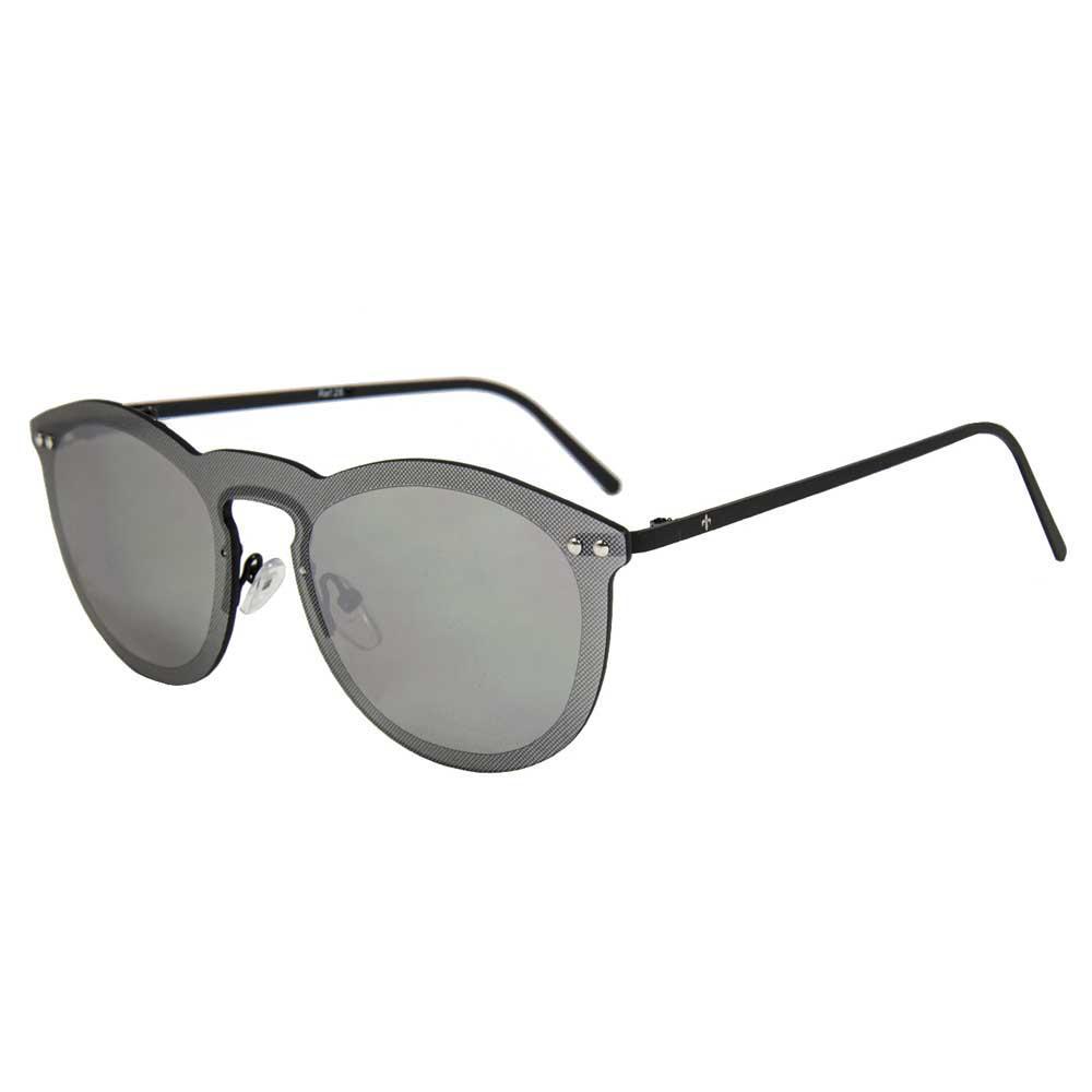 Lenoir Eyewear Cannes Space Flat Smoke/CAT3 Metal Matte Black Temple