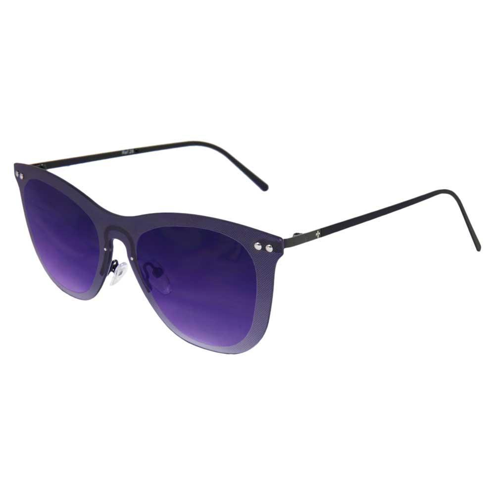 Lenoir Eyewear Saint Tropez Space Flat Grad Smoke/CAT3 Matte Black Temple