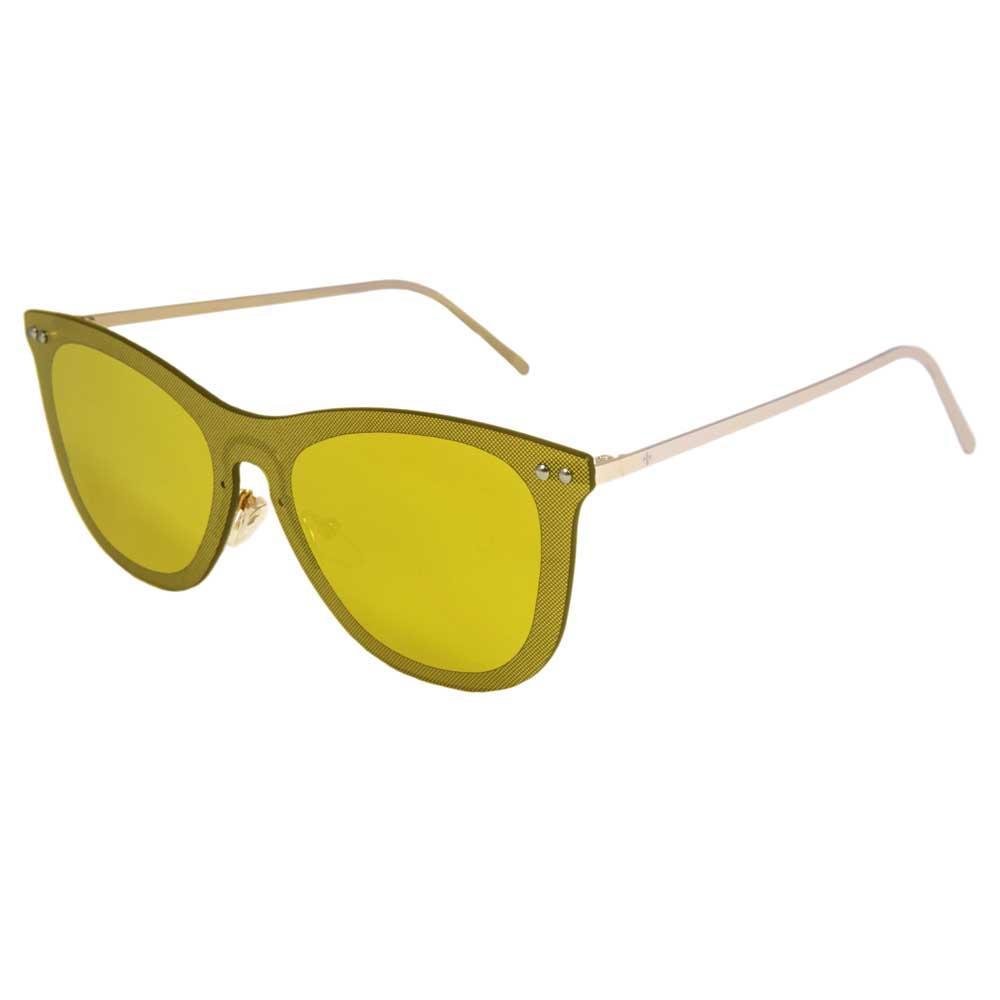 Lenoir Eyewear Saint Tropez CAT3 Space Flat Gold Revo Lens With Matte Gold Temple