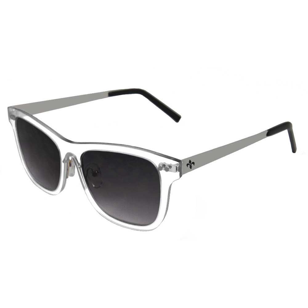 Lenoir Eyewear Ferrand CAT3 White Transparent Frame With Smoke Lens