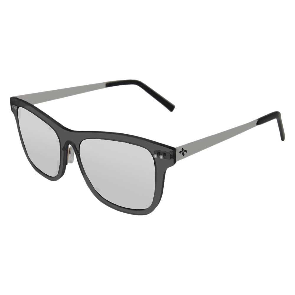 Lenoir Eyewear Ferrand Revo Silver/CAT3 Matte Black Transparent Frame