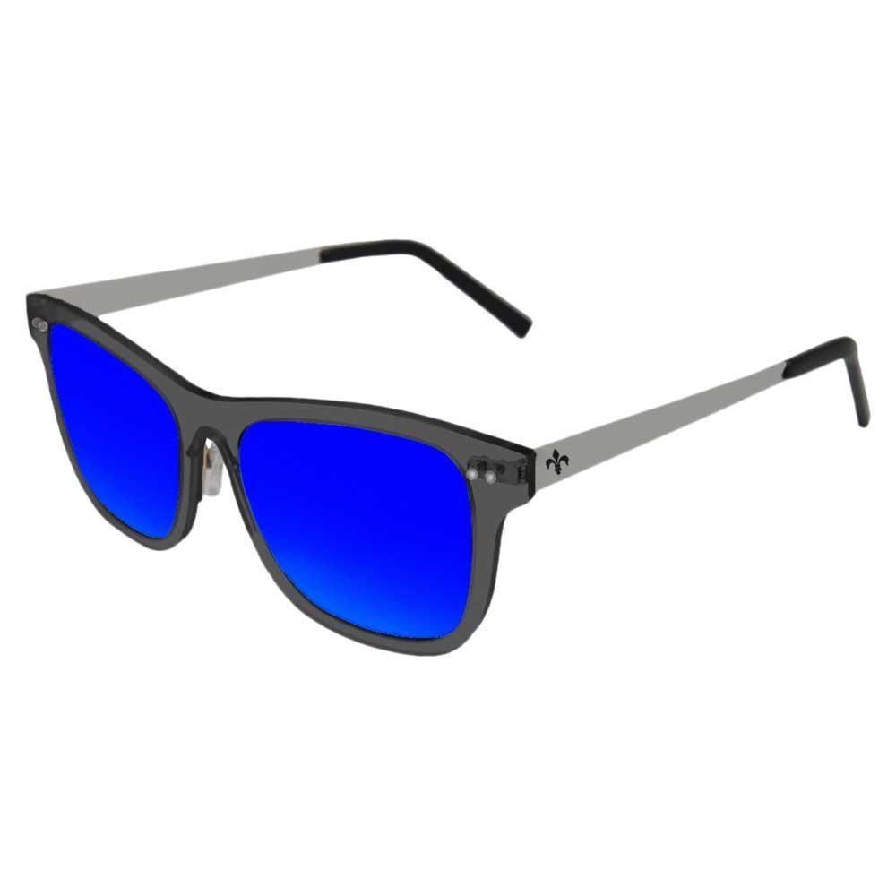 Lenoir Eyewear Ferrand Revo Blue/CAT3 Matte Black Transparent Frame