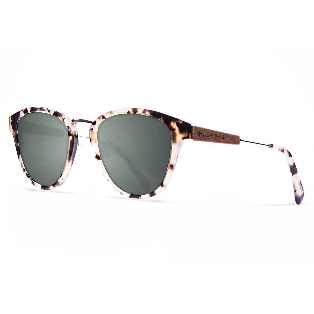 Lenoir Eyewear Nicolas CAT3 Tortoise With Ebony Wood With Olivier Lens