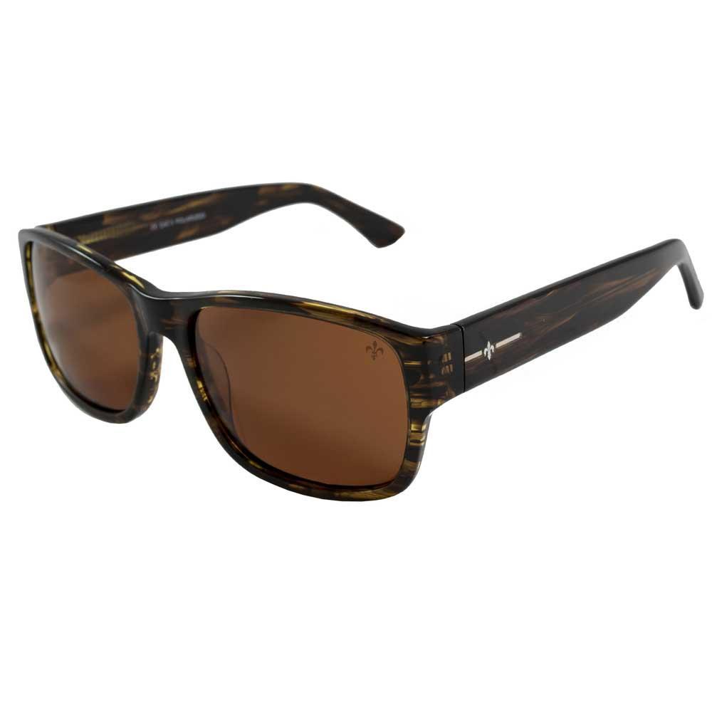 Lenoir Eyewear Gabin CAT3 Demy Yellow Frame With Brown Lens
