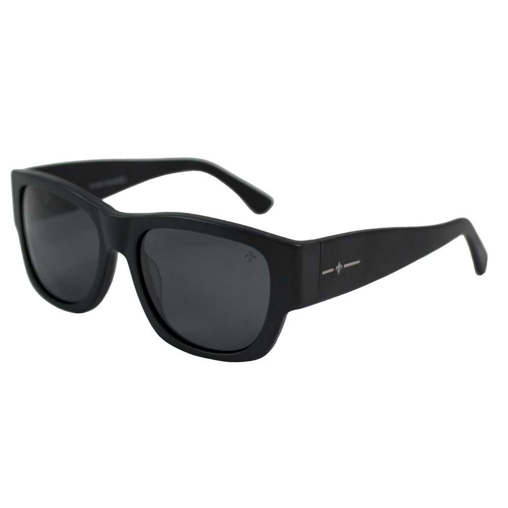 Lenoir Eyewear Mesrine CAT3 Shiny Black Frame With Smoke Lens