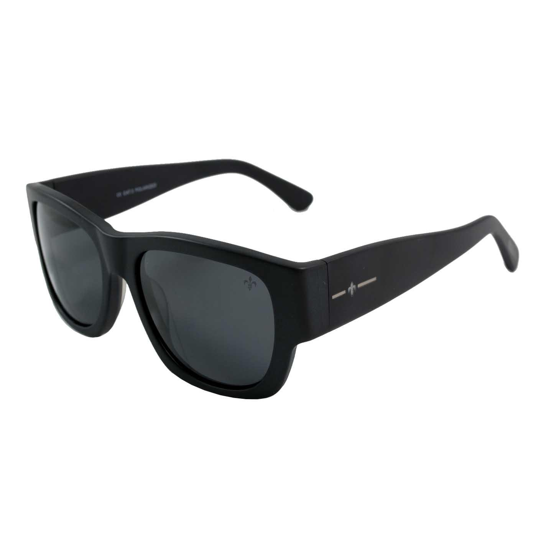 Lenoir Eyewear Mesrine CAT3 Matte Black Frame With Smoke Lens