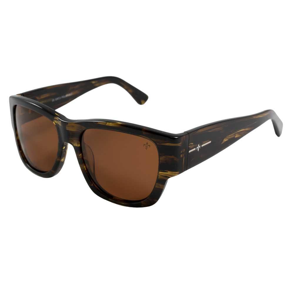 Lenoir Eyewear Mesrine CAT3 Brown Stainless Frame With Brown Lens