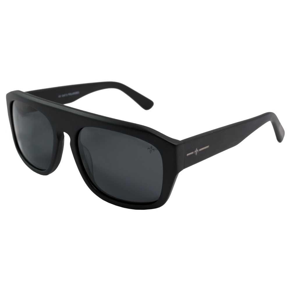 Lenoir Eyewear La Tour CAT3 Shiny Black Frame With Smoke Lens