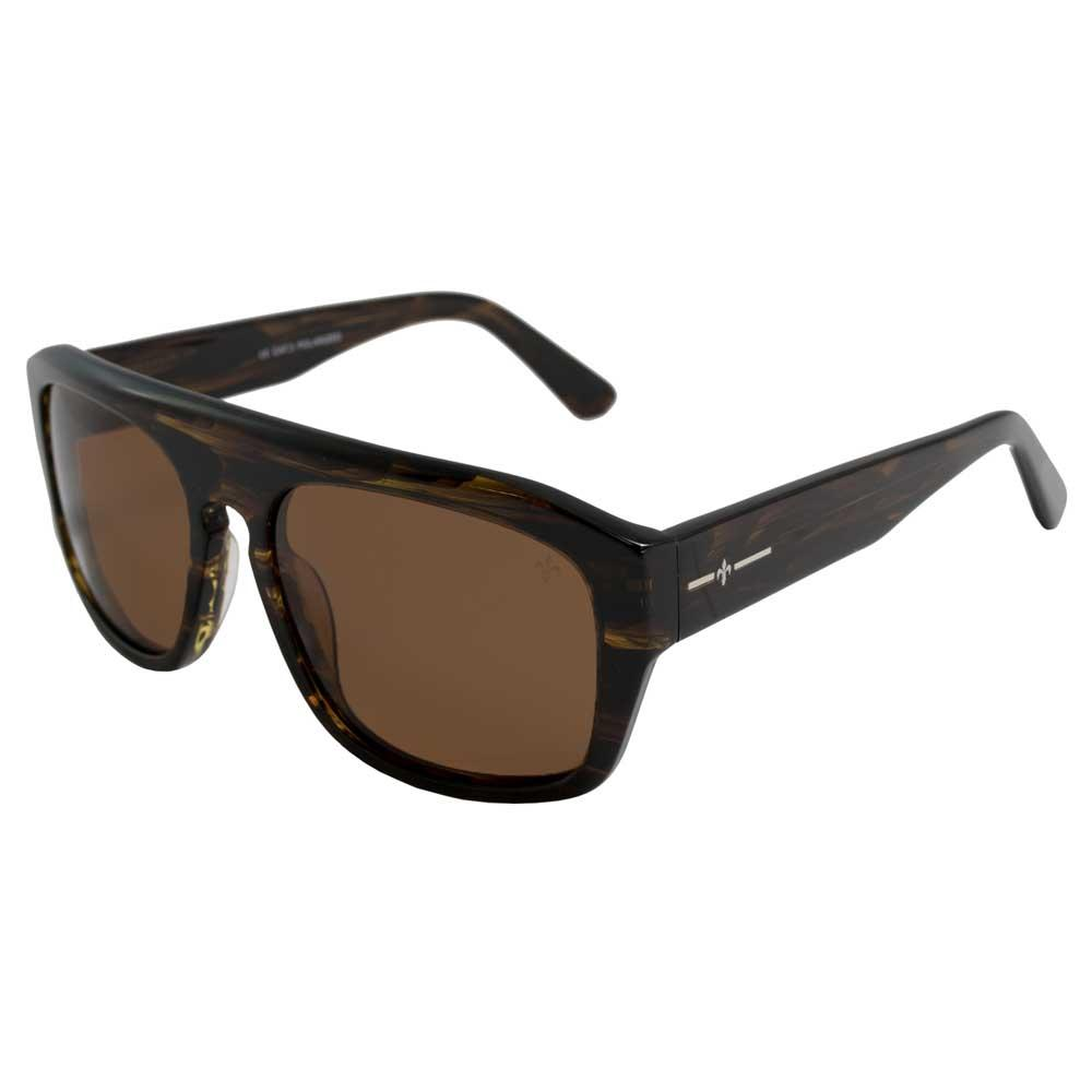 Lenoir Eyewear La Tour CAT3 Demy Yellow Frame With Brown Lens