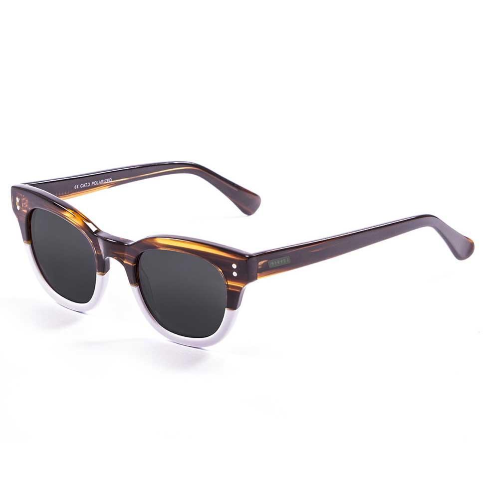 Lenoir Eyewear Croisette CAT3 Frame Brown & White / Smoke Lens