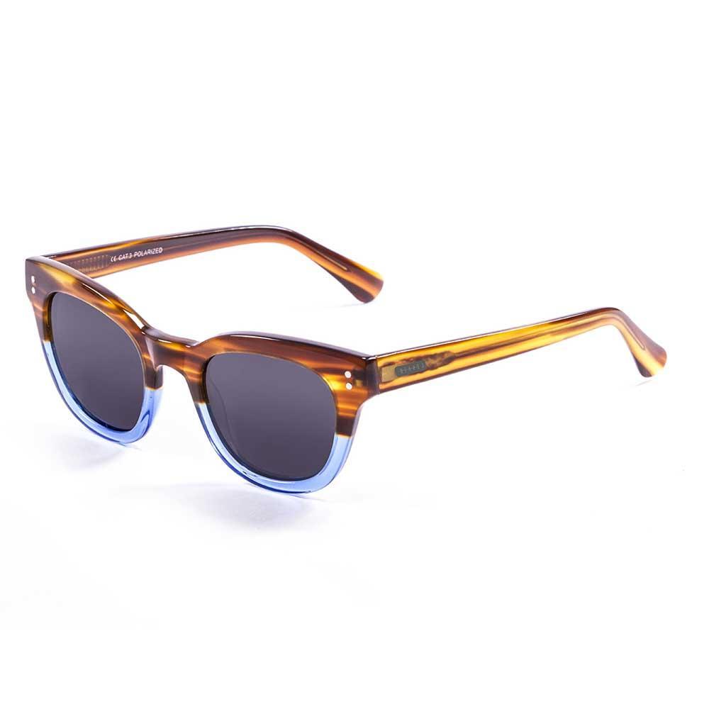 Lenoir Eyewear Croisette CAT3 Frame Brown & Blue / Smoke Lens