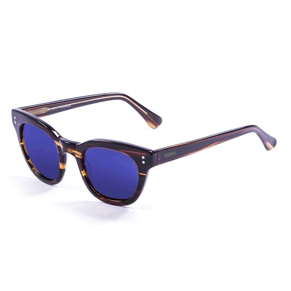 Lenoir Eyewear Croisette CAT3 Frame Brown / Revo Blue Lens