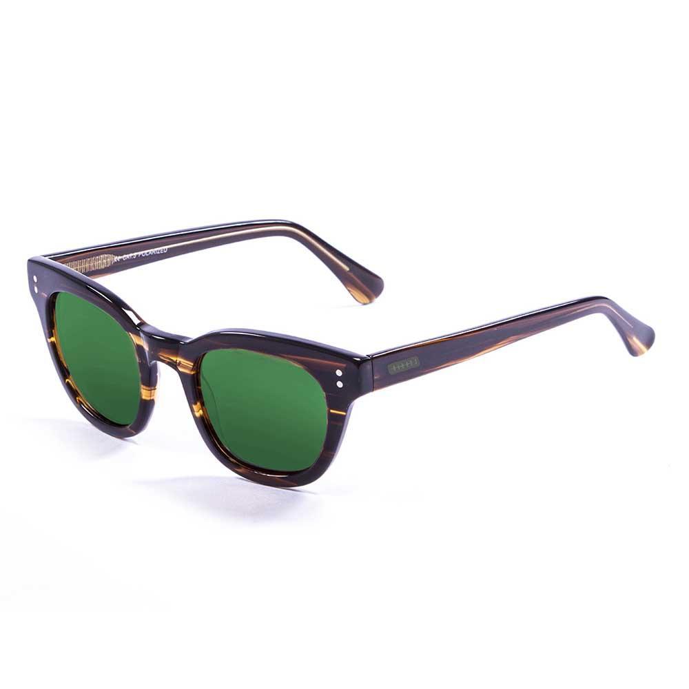 Lenoir Eyewear Croisette CAT3 Frame Brown With Revo Green Lens