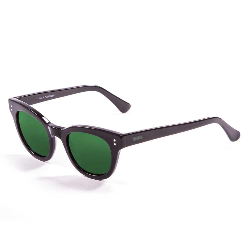 Lenoir Eyewear Croisette CAT3 Frame Matte Black With Revo Green Lens
