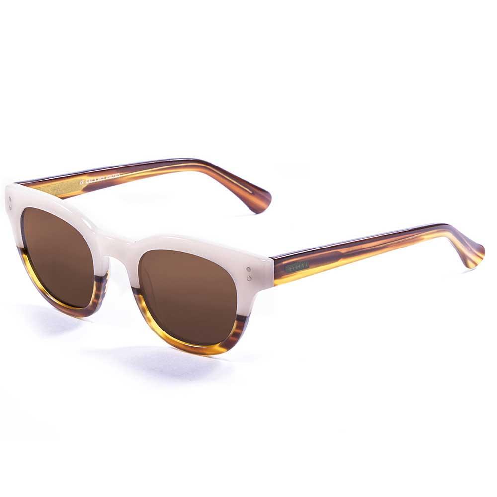 Lenoir Eyewear Croisette CAT3 Frame Brown/White Up With Brown Lens