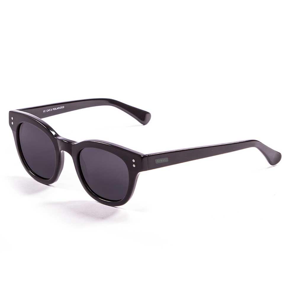 Lenoir Eyewear Croisette CAT3 Matte Black Up /Shiny Black Down With Smoke Lens