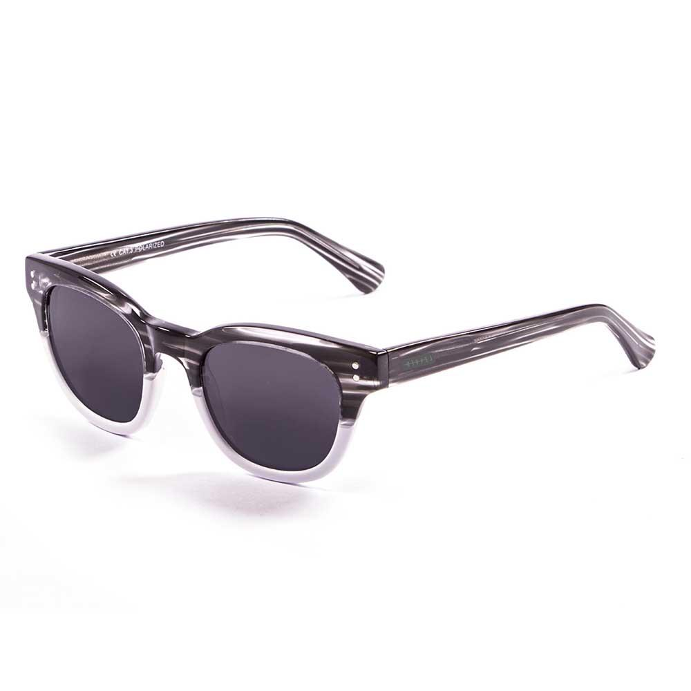 Lenoir Eyewear Croisette CAT3 Demy Black With White Bellow With Smoke Lens