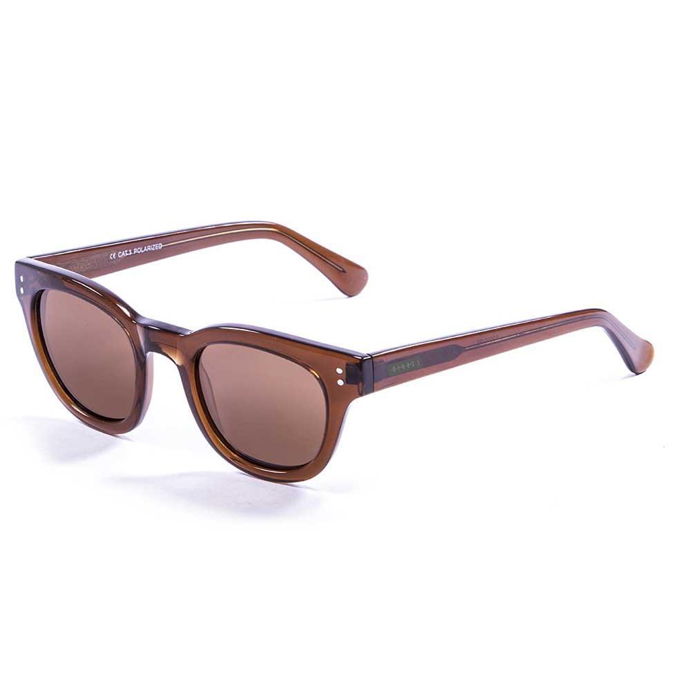 Lenoir Eyewear Croisette CAT3 Dark Brown Trasnparent With Brown Lens