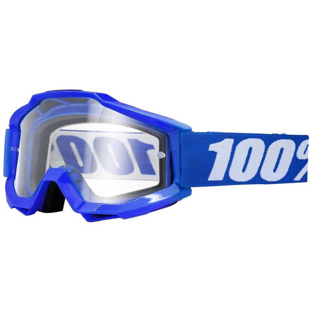 100percent Accuri Google Clear/CAT0 OTG Reflex Blue