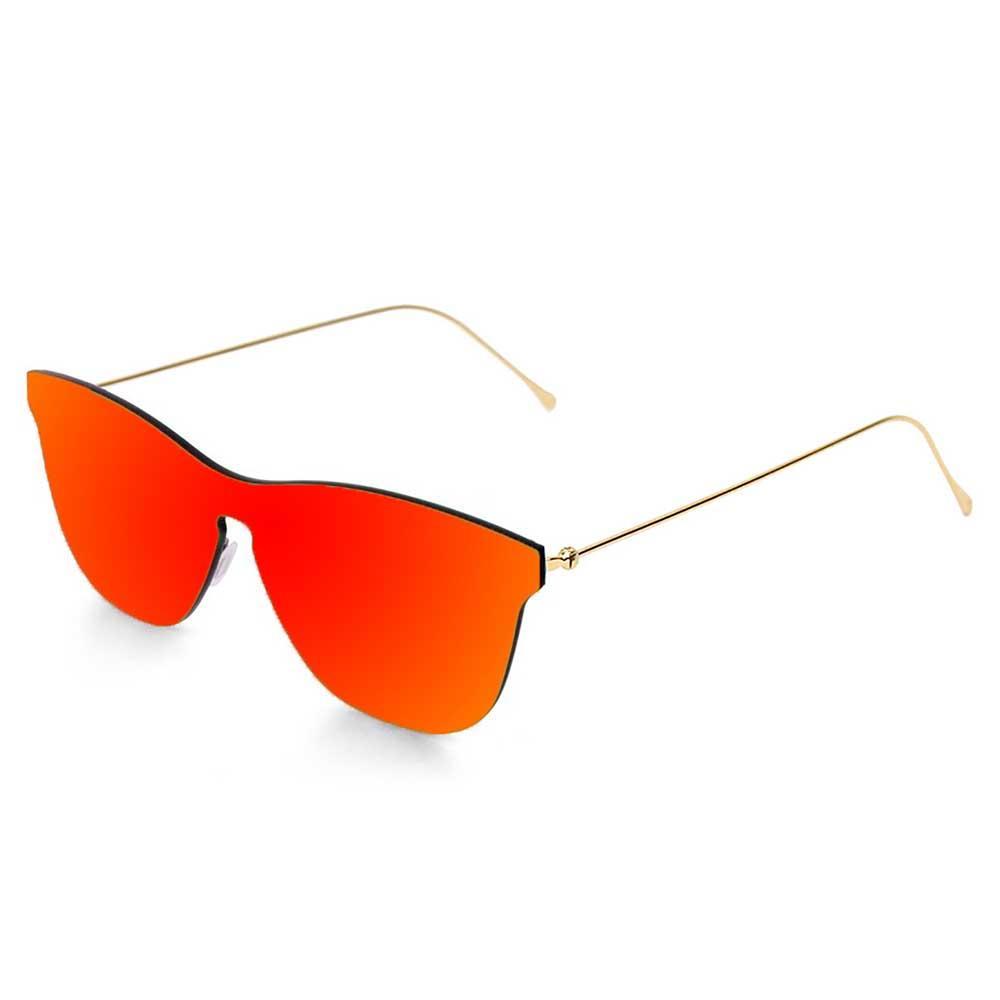 ocean-sunglasses-genova-metal-gold-temple-cat3-space-flat-revo-red