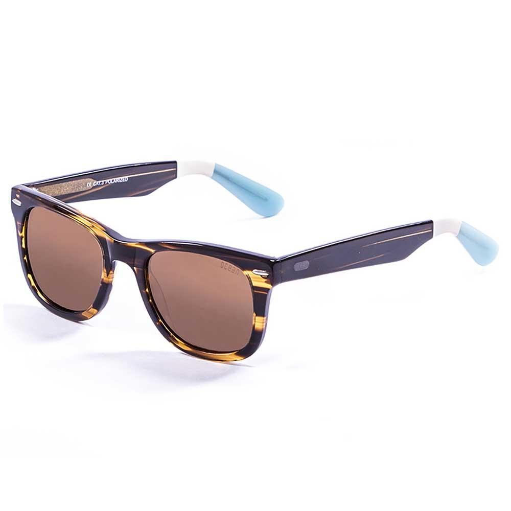ocean-sunglasses-lowers-frame-demy-brown-white-blue-arms-smoke-cat3-frame-demy-brown-white-blu