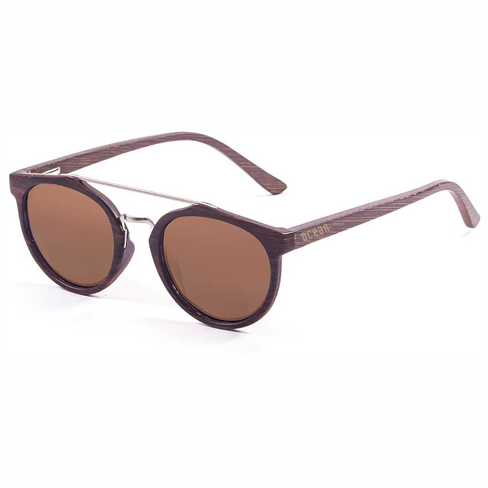 ocean-sunglasses-guethary-brown-cat3-matte-brown-front