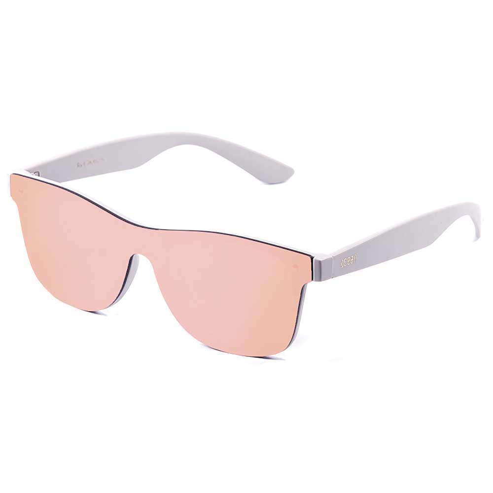 ocean-sunglasses-messina-revo-pink-flat-cat3-matte-solid-grey