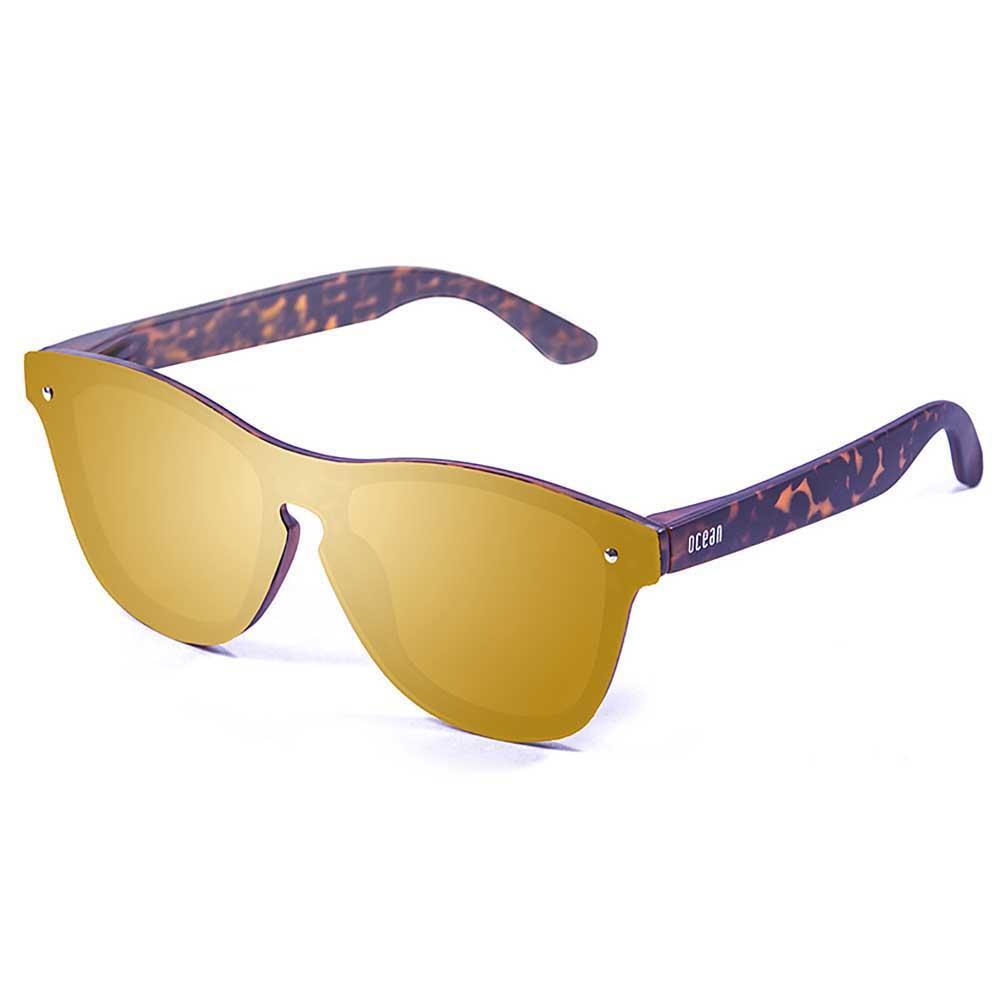 ocean-sunglasses-socoa-revo-gold-flat-cat3-matte-demy-brown