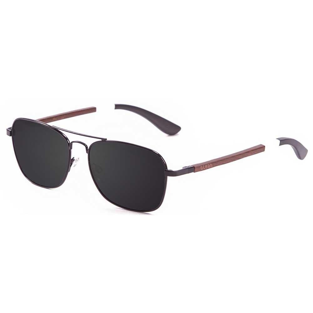 ocean-sunglasses-sorrento-wood-black-white-dark-blue-arm-smoke-cat3-pear-wood