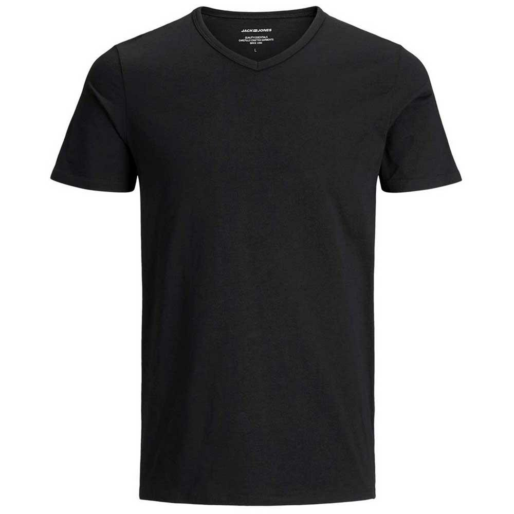 c853cf99b Jack & Jones Jacbasic V Neck 2 Pack Black , T-Shirts Jack & jones ...