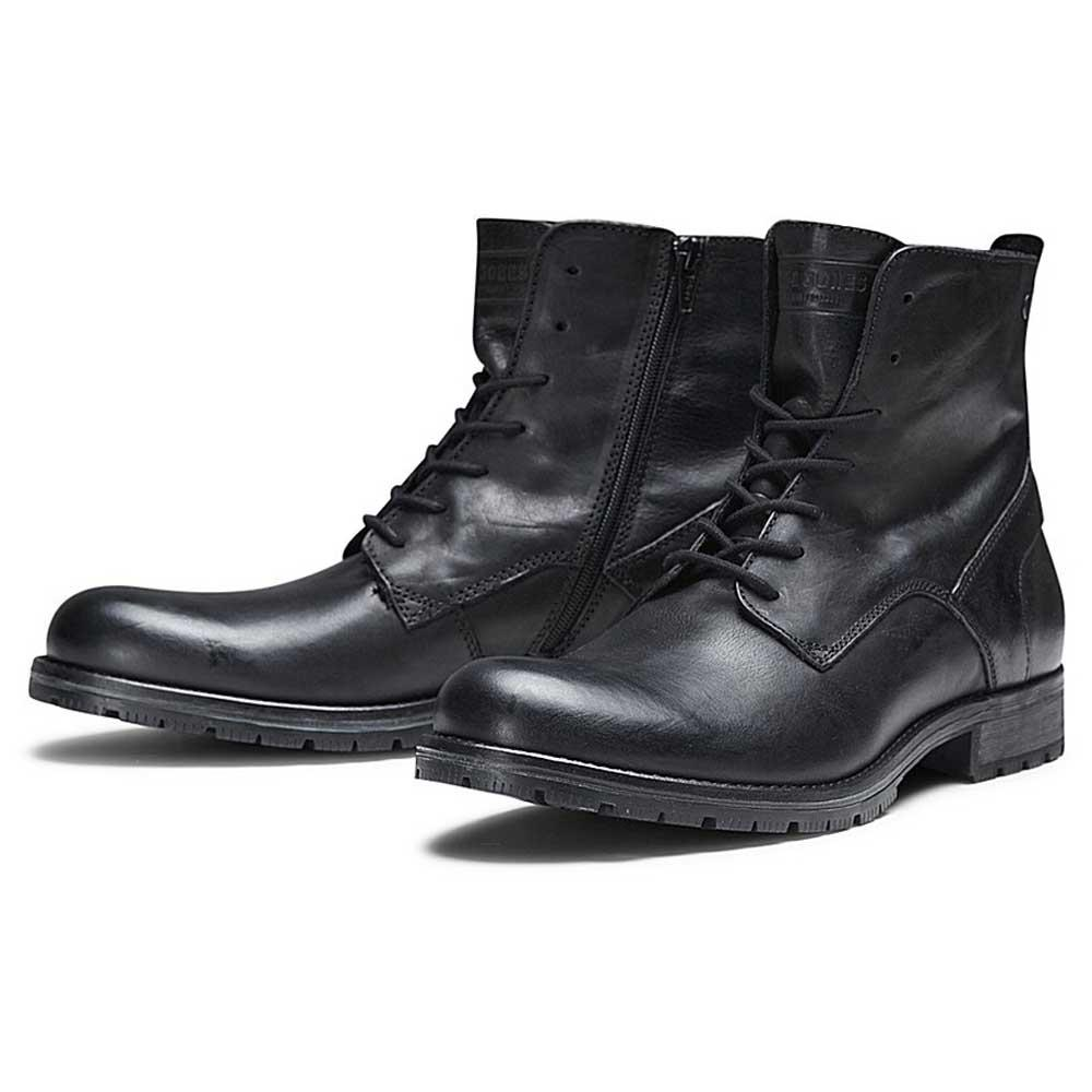 Jack & Jones Jfworca Leather, Boots and Booties, fashion, Men´s shoes-1109675,57