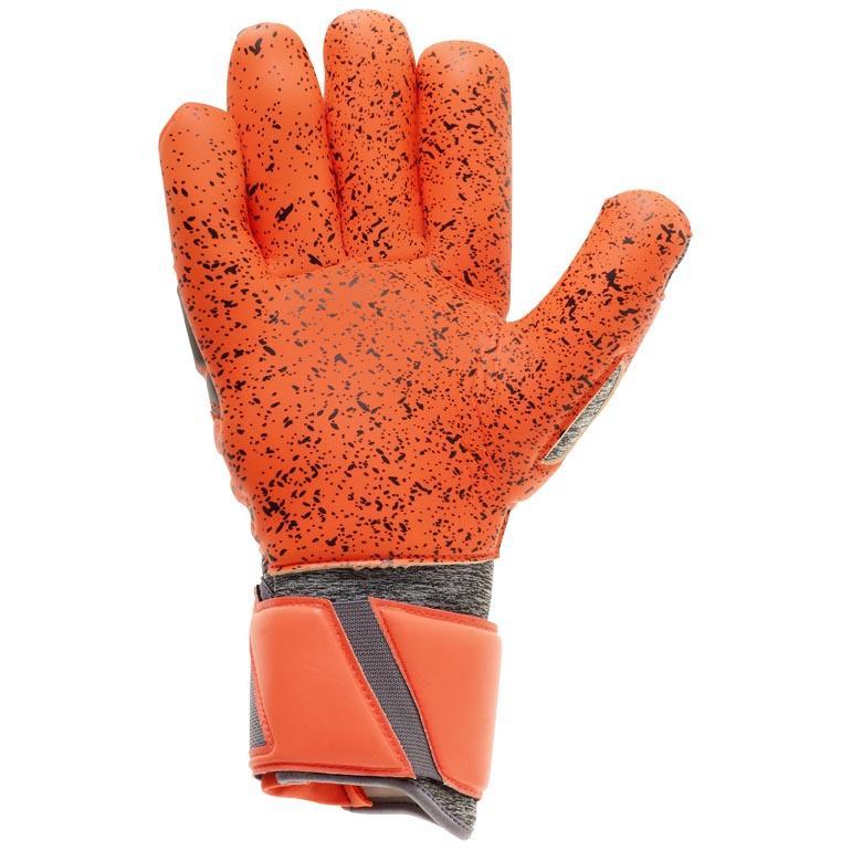 Uhlsport AerGoldt Supergrip Finger Surround Dark grau grau grau Melange   Fluo Uhlsport 183049