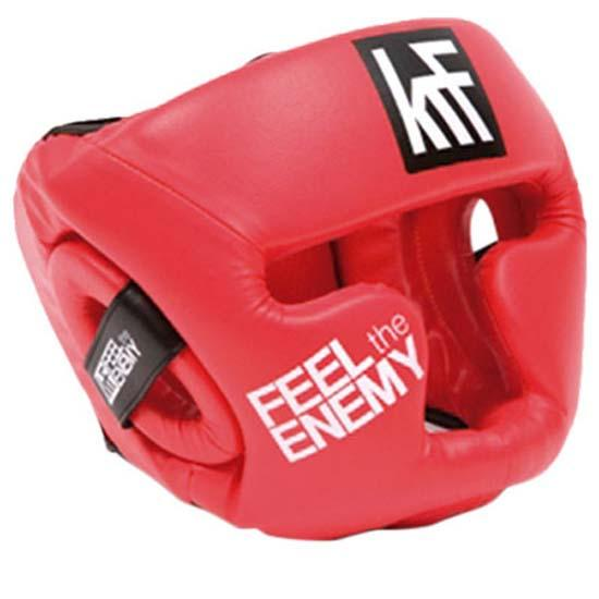 Krf Casque Feel The Enemy Junior One Size Red