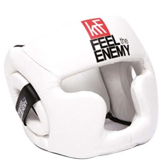 Krf Casque Feel The Enemy Junior One Size White