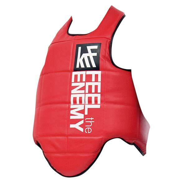 Krf Padded Body Protector Junior One Size Red
