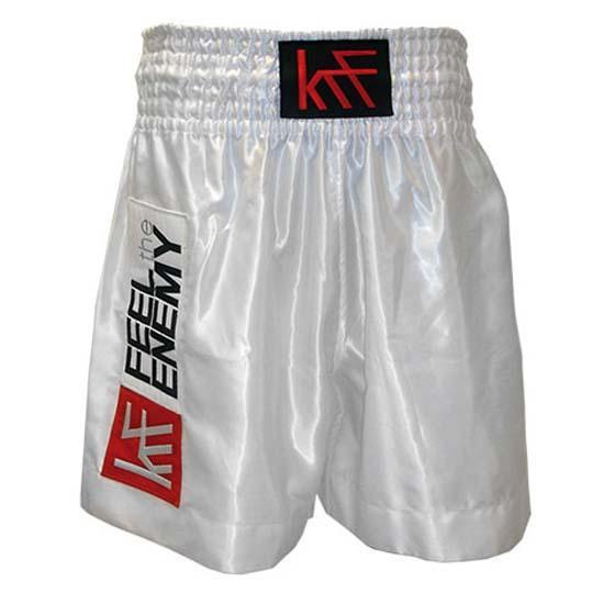 Krf Plain Classic Boxing Short M White
